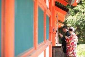 shrine with pray