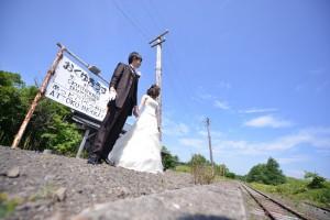 Unique pre wedding in Hokkaido