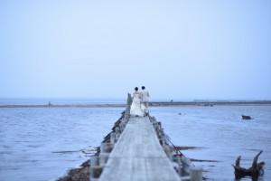 Dramatic pre wedding in Hokkaido