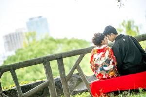 Pre wedding in Osaka