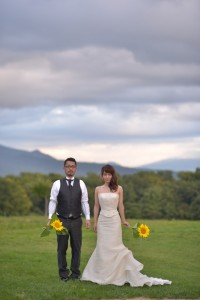 Unique pre wedding in Hokkaido by M and M company