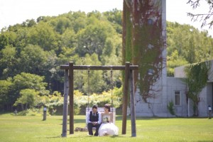 Hokkaido Niseko Prewedding play on the swing