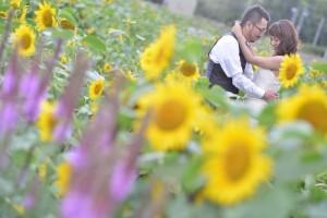 Unique pre wedding in Hokkaido M and M company