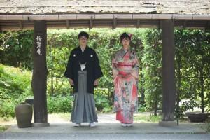 Fukuoka Mojiko Nagatani prewedding kimono shooting