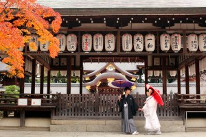 Pre weddin photo shooting in Kyoto