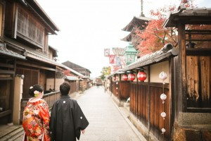 traditional landscape of Kyoto