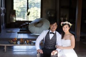 Cute pre wedding at Fukuoka