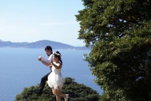 Cute pre wedding at Fukuoka by Saki wedding