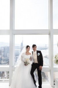 Pre wedding at Chapel Hilton Fukuoka by Saki wedding
