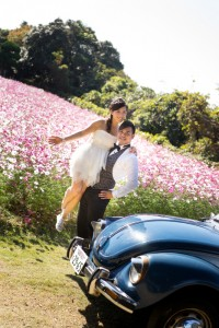 Pre wedding at Fukuoka by Saki wedding