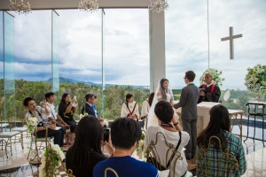 Wedding at chapel diamond ocean