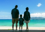 Family photo in Okinawa