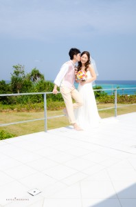 Okinawa Beach Ceremony highlight by Kafuu Wedding