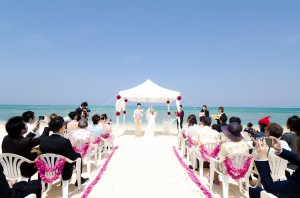 Okinawa wedding Ceremony highlight by Kafuu Wedding at Beach