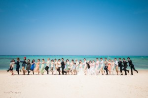 Okinawa Ceremony highlight by Kafuu Wedding at beach