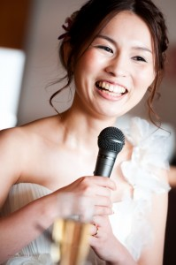 Kafuu Wedding Ceremony bride speech snapshot highlight