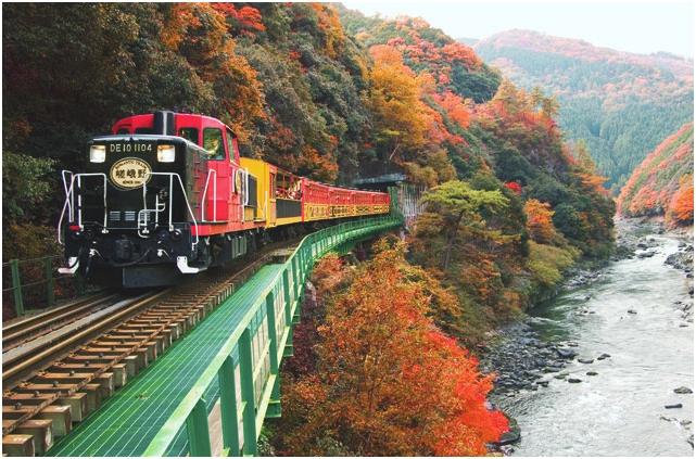 Trolley Train (Arashi-yama)