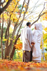 Japanese traditional wedding in Hokkaido
