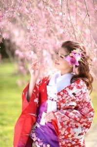Kimono bride in Fukuoka