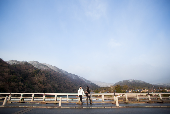 snap shot in Arashiyama