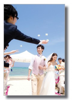 KAFUU WEDDING beach ceremony