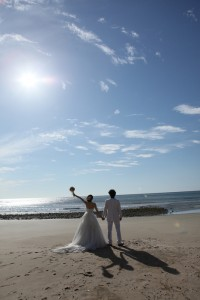 Pre wedding at beach