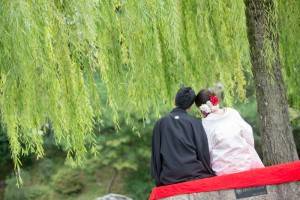 Kyoto wedding photo
