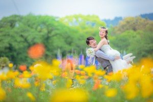 Pre wedding photo shooting in beautiful scene in Kyoto