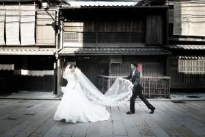 Silent scene in Kyoto
