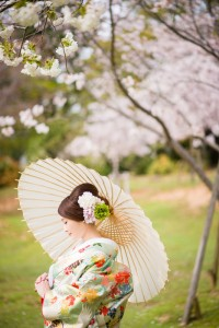 Unique pre wedding photo shooting in Nara park