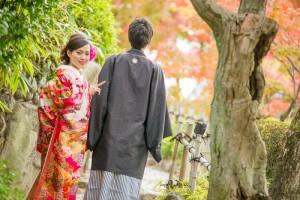 Garden wedding in Kobe