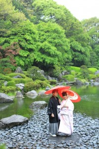 Japanese traditional garden