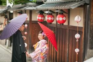 higashi yama area in Kyoto