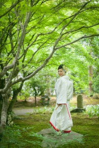 wedding photo shooting in Kyoto