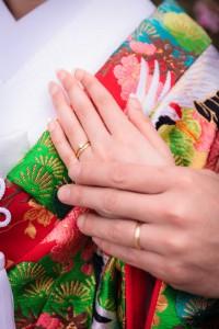 Japanese wedding ring