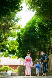 Talking a walk in Okinawa nature