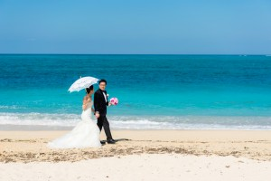 Wedding day at Okinawa resprt