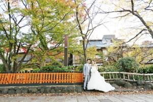 Autumn season of Gion Kyoto