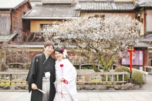 memorial moment in Gion