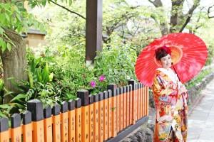 Kyoto's traditional scene