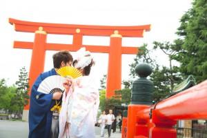 Trade mark of Japanese shrine