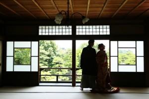 Indoor of Japanese garden