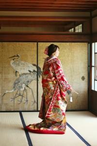Old fusuma