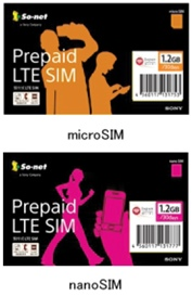 SIM card for micro and nano