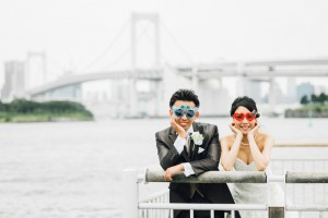 funny style pre wedding