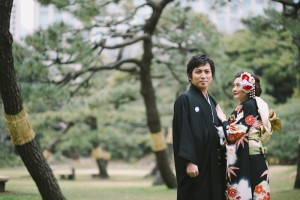 kimono for wedding scene