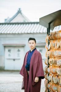 Nice experience to wear kimono