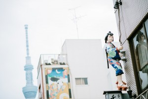 Building decoration in Tokyo