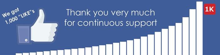 appreciate all your support