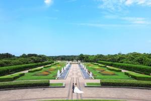 Uminonakamichi park, Fukuoka